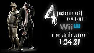 Resident Evil 4 Speedrun (1:34:31) - Wii U NTSC - NG+ - SS - Normal