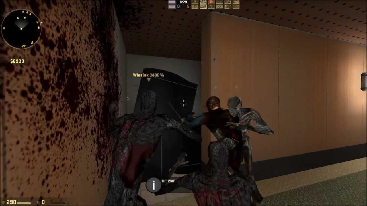 Cs go mod zombie download как посмотреть все скины в cs go