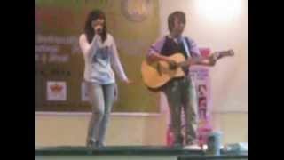 Lucky/Wouldn't Change A Thing performed by Ronn And Ceska