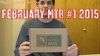 February Mystery Tackle Box #1 2015 (ice Fishing)