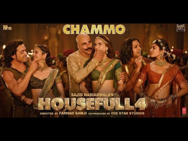 Housefull 4: CHAMMO Song | Akshay Kumar,Riteish D,Bobby D,Kriti S,Pooja H, Kriti K | Sohail Sen
