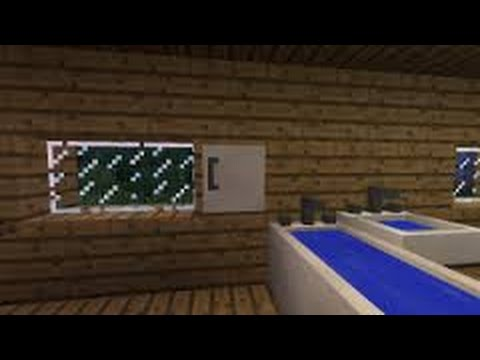 video tuto minecraft comment faire une belle salle de bain - YouTube