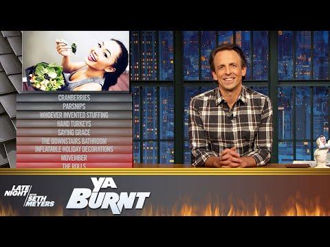 Ya Burnt Meyers Family Edition: Hand Turkeys, Vegans