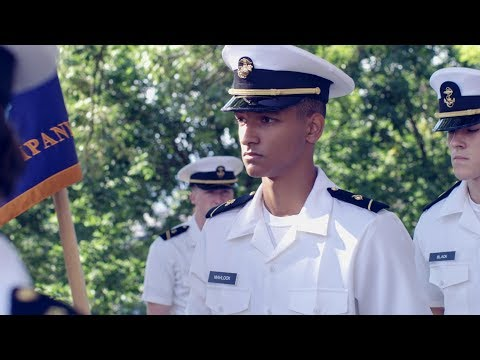 New Midshipmen Learn the Navy Way