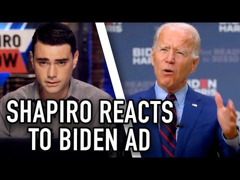 Ben Shapiro Reacts to THIS Insane Claim in Biden Ad