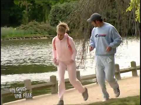 Un gars une fille - font du jogging