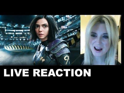 Alita Battle Angel Trailer 3 REACTION