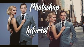 Photoshop tutorial Замена фона.