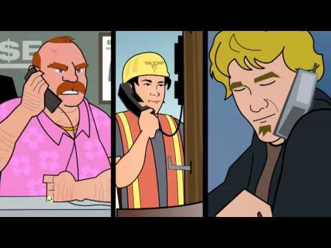Pole Guy Cartoon -Don Jamieson & Jim...