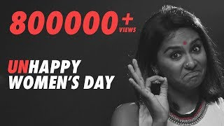 Unhappy Women's Day ft. Lakshmipriyaa 4K | #FullyFearless | Fully