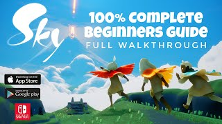 Sky Children of the light - 100% COMPLETE Beginners Guide | Noob Mode screenshot 2