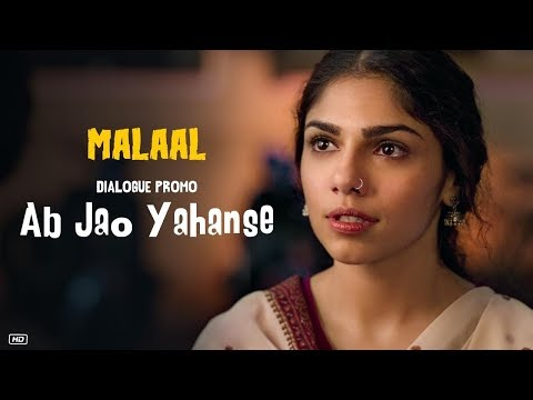 Malaal: Ab Jao Yahanse (Dialogue Promo 1) | Sharmin Segal | Meezaan | 5th July 2019