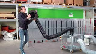 Portable Dust Collector Equipment for industrial Stone processing production