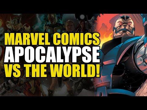 Apocalypse Vs The World (X-Men Vol 2: Blood Of Apocalypse)