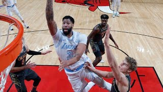 Anthony Davis 37 Pts vs Bulls! Lakers 9-0 on Road! 2020-21 NBA Season