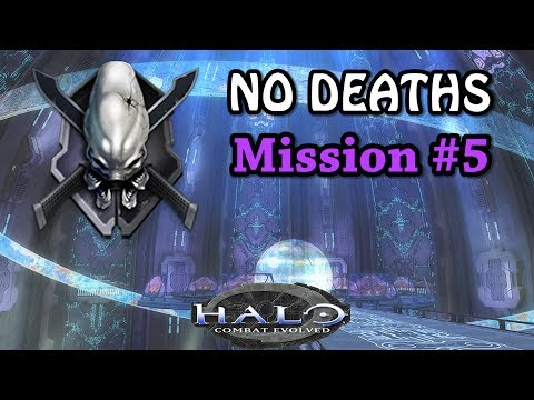 HALO CE LEGENDARY NO DEATHS Walkthrough ► Mission #5 Assault On The Control Room