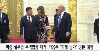 [미중 무역 실무협상 시작..'피해 농가' 방문]