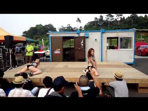 新 JZX Japan ゴーゴーダンスwww (msp ドリフト 夏祭り) 青森Japan