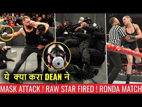 Dean ATTACKS Seth With GAS MASK ! Raw Star FIRED ! WWE Raw 3 December 2018 Highlights Ziggler VsDrew