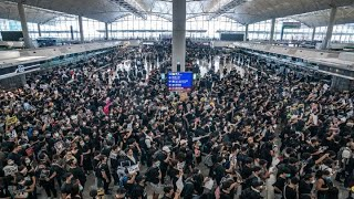Hong Kong airport cancels all flights due to protests