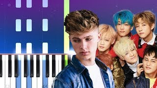 Gambar cover NCT DREAM X HRVY - Don't Need Your Love (Piano Tutorial)