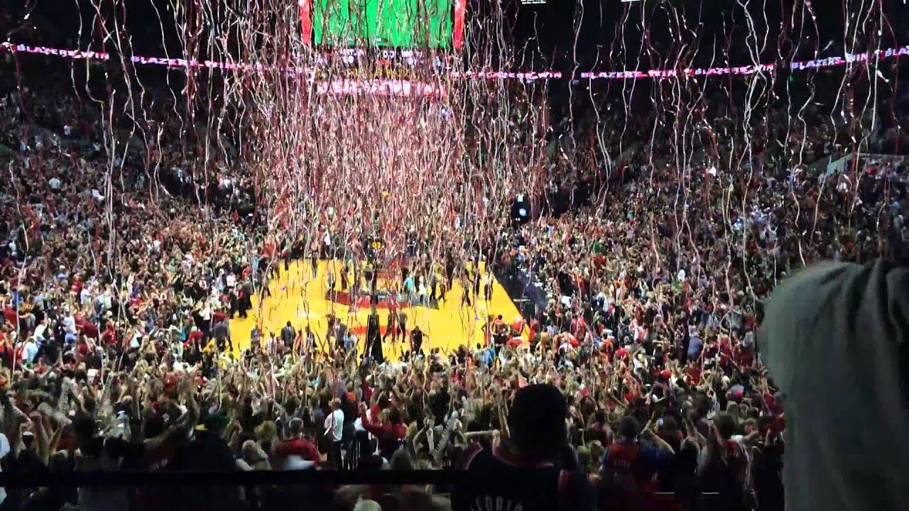 Damian Lillard Hits Game Winner Series Clincher Rockets