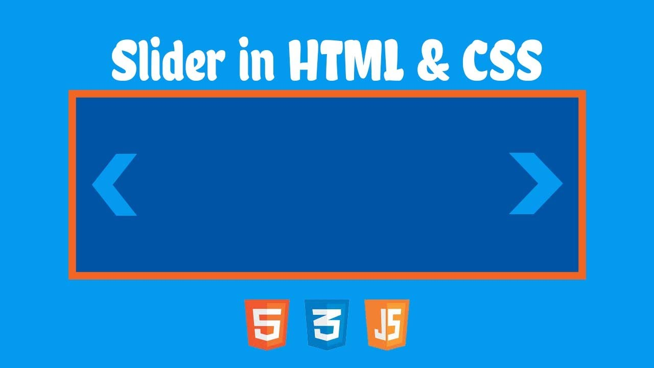 Amazing Slider in html & css3 || Vickey Technical || :)