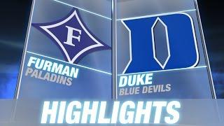 Furman vs Duke | 2014-15 ACC Men