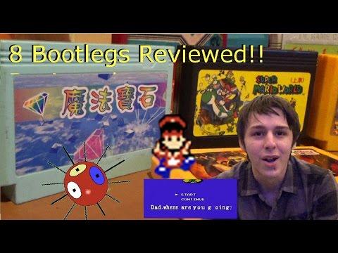 Pirate Nintendo Games Review (Famicom)