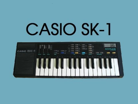 TOY #7 CASIO SK-1 Sampling Keyboard 1986 | HQ DEMO