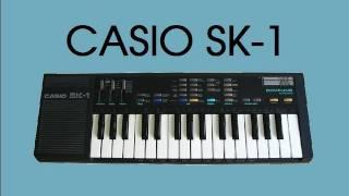 Іграшка #7 Casio в СК-1 вибірки клавіатура 1986 | ЦУ демо