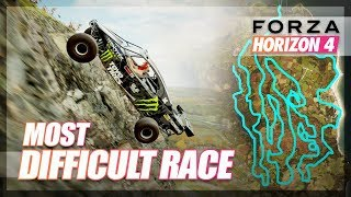 Forza Horizon 4 - Most DIFFICULT Race! (Welcome to Hell V2)