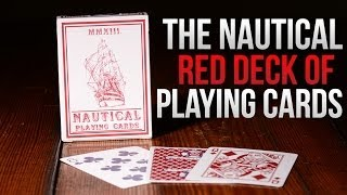 Deck Review - The Nautical Red Playing Cards