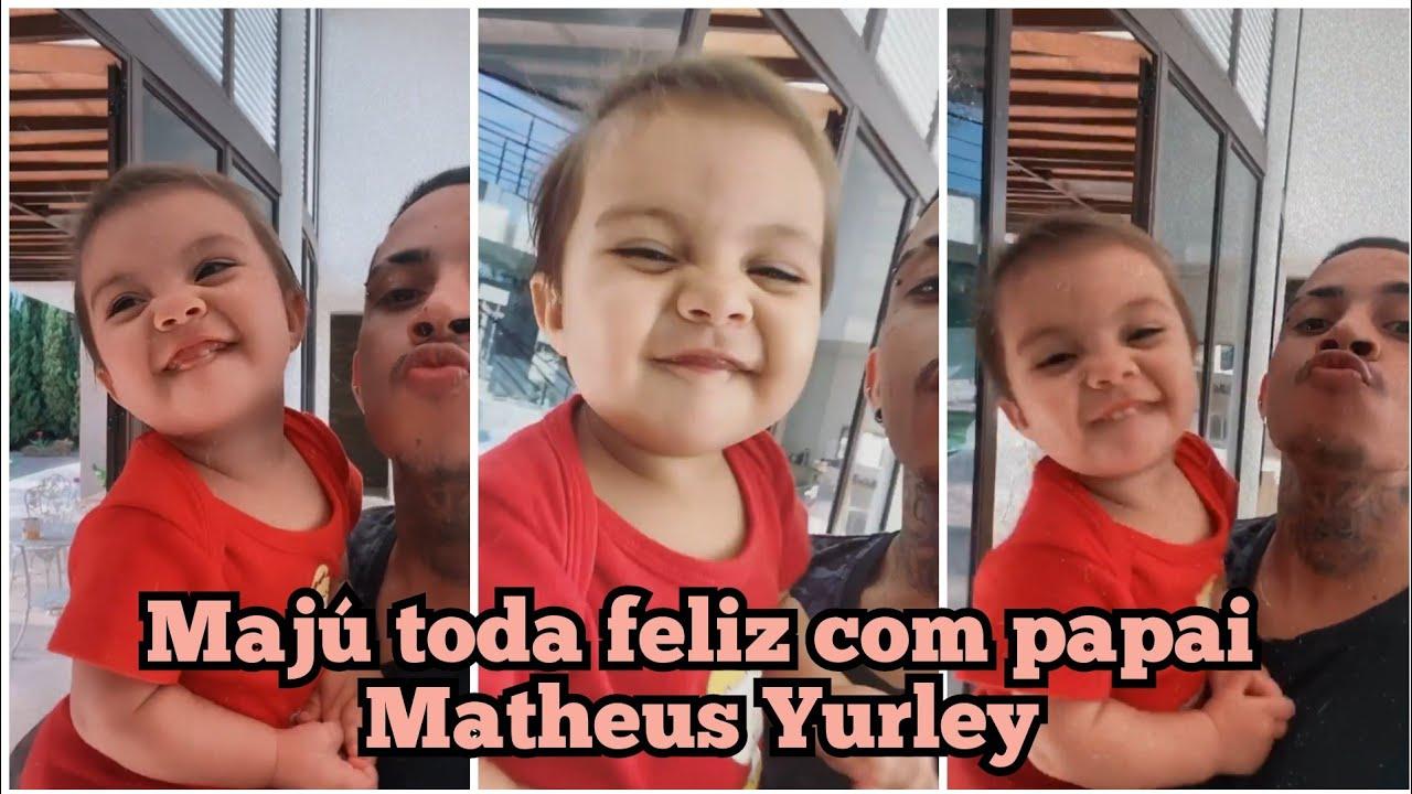 MAJÚ GANHA PRESENTE DE MATHEUS YURLEY