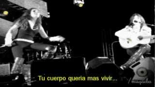 Malú  y Vanesa Martín-. No te pude retener -2012