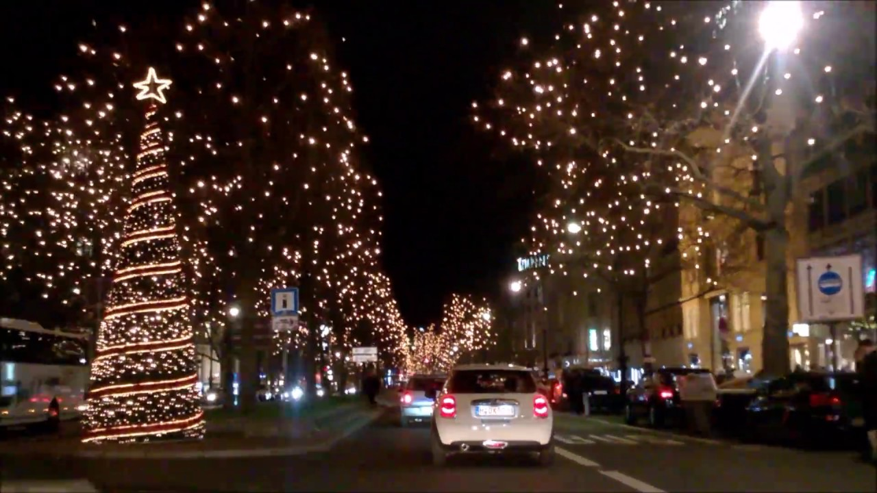 Weihnachtsbeleuchtung Berlin.Weihnachtsbeleuchtung Auf Dem Kurfürstendamm In Berlin 19 12 2016