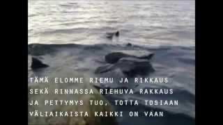 Samuli Edelmann - Väliaikainen (lyrics) Vain elämää 3.  kausi