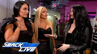 Paige is confronted by Mandy Rose & Sonya Deville: SmackDown Exclusive, April 23, 2019