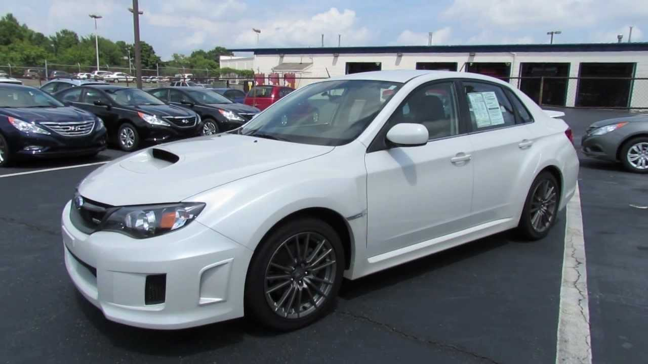 2011 subaru impreza wrx sedan start up exhaust and in depth review youtube