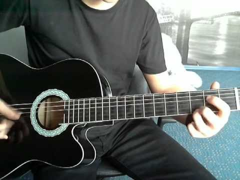 Seether & Evanescence - Broken acoustic guitar cover