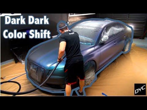 Dark Dark Color Shift - Experimental Spray