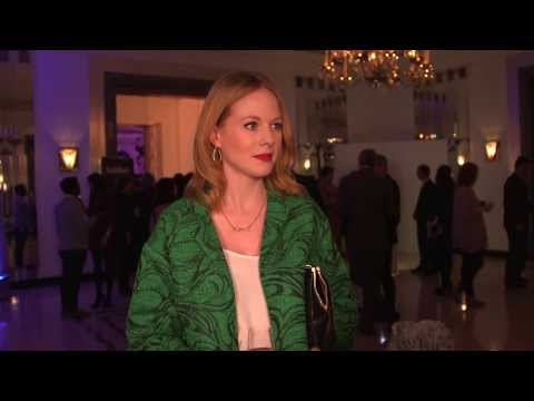 Radio Times Covers Party 2014  Zoe Boyle