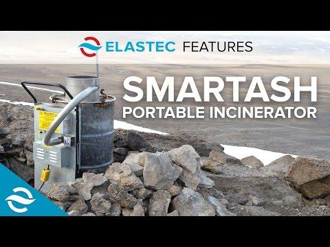 ELASTEC FEATURES   SmartAsh Portable Incinerator