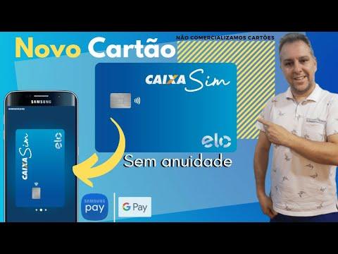 💳Novo Cartão Caixa SIM| Sem Anuidade, Internacional, Menores taxas, é pra todos.🔝✔