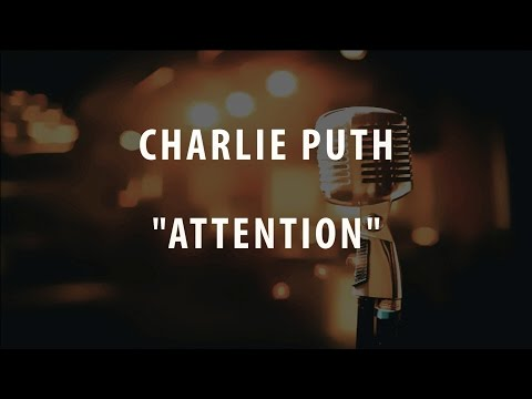 CHARLIE PUTH - ATTENTION (INSTRUMENTAL / KARAOKE)
