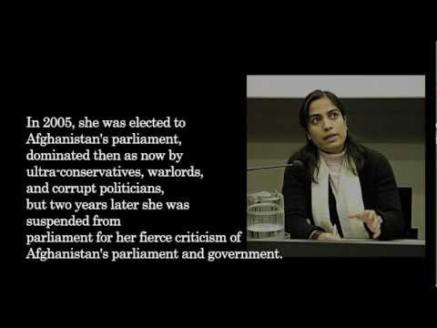 Malalai Joya - The Story of an Afghan Who Dared to Raise Her Voice
