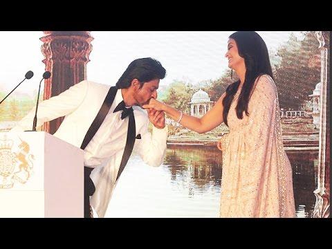 Shahrukh Khan KISSES Aishwarya Rai At Prince William & Kate Middleton Royal Dinner Party
