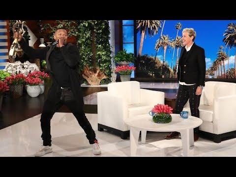 Jamie Foxx Turns Up for Ellen's Birthday