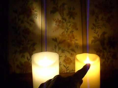 Luminara and Premier dancing flame LED candle showdown.