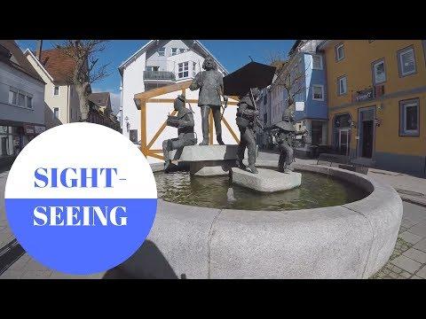 Sightseeing in Oberndorf am Neckar in GERMANY
